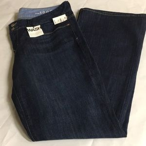 Gap jeans perfect boot blue denim 12/R 31  new